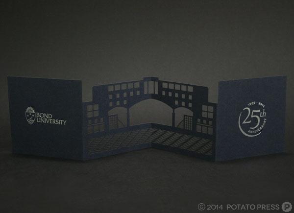 Bond-University-full-spread-custom-invitation-invite-paper-laser-cut-lasercut-customamde