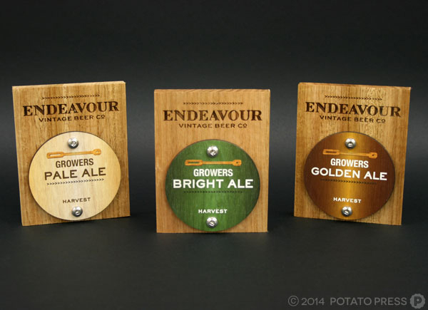 Endeavour-beer-tap-allup-custom-bespoke-timber-wood-uvprint-uv-print-etch-laser-laseretch-hardwood-craftbeer-craft-pointofsale-point-of-sale-sydney-australia-melbourne-NSW-QLD-national-international