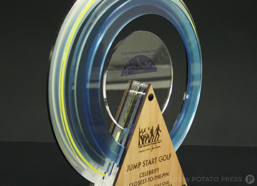 potato-press-circular-trophy-custom-layered-acrylic-laser-etch-detail